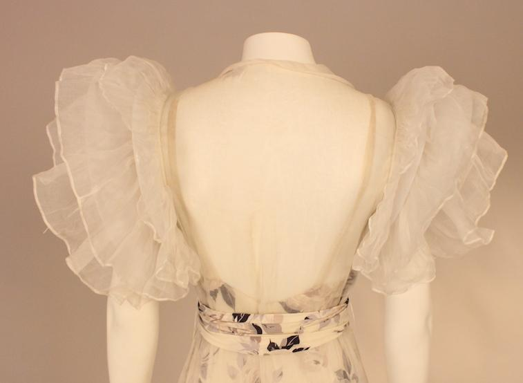 Closeup of Letty Lynton gown