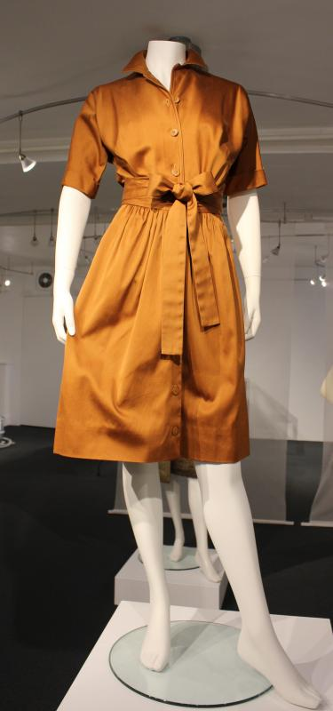 McCardell shirtwaist dress