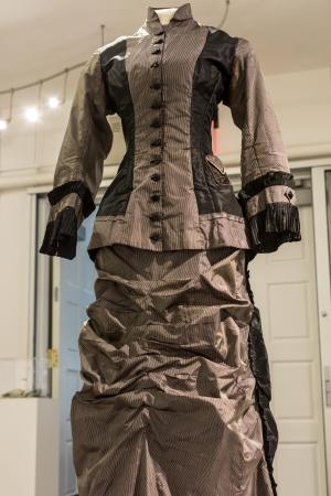Late 1870s to early 1880s (bustle); Late 19th century (corset); all else 1880s to early 1900s