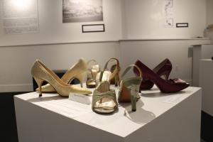 Head Over Heels: 1950s Wedgwood sandals (photo credit: Katherine Craig)