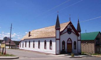 Temple Israel (est. 1884), Leadville, Colorado.